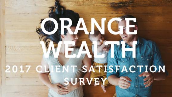 Client Satisfaction Survey orange wealth